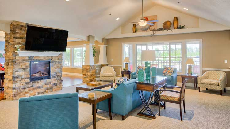 Image Gallery | Clubhouse at Charter Senior Living of Bay City