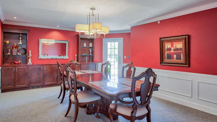 Image Gallery | Private Dining Room at Charter Senior Living of Bay City
