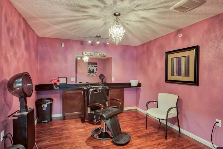 Image Gallery | Charter Senior Living of Bay City Beauty Salon